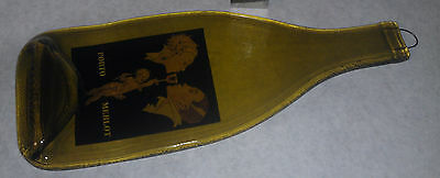 Porto wine glass trivet plate or for wall hanging rare