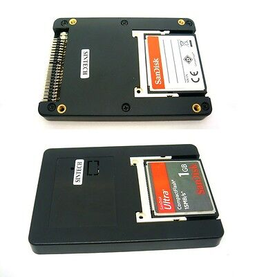 "Sintech Dual CF UDMA card TO 2.5"" 44pin IDE adapter with case as SSD HDD ST4410"