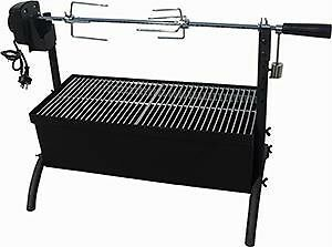 Charcoal Outdoor Spit Roaster / Rotisserie Grill 240V Motor