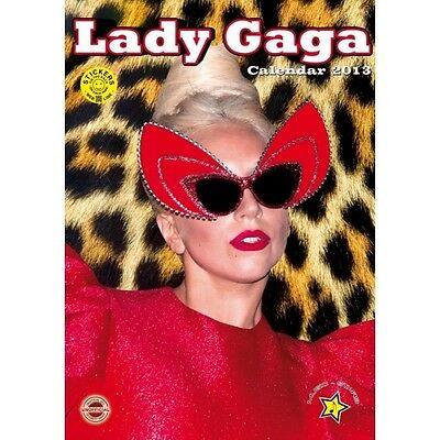 Calendario 2013 Lady Gaga  + 12 Adesivi