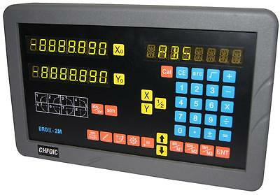SINPO 2-axis digital readout for mill milling (complete DRO kit!)