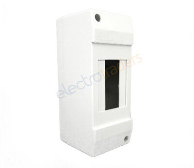 2 Pole Enclosure for Circuit Breakers, RCDs, RCBOs, Timers, Contactors, DIN
