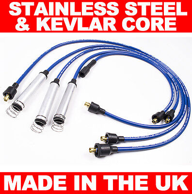 High Performance 8Mm Silicone Ht Ignition Leads Vauxhall Opel Carlton Cavalier