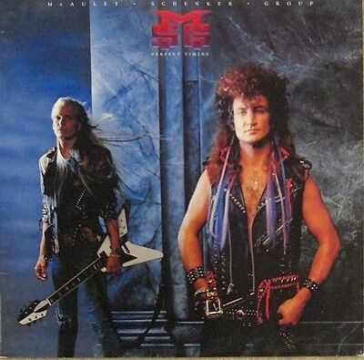 LP  * McAuley Schenker Group - Perfect Timing *  gereinigt - cleaned