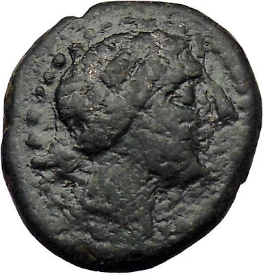 Kyzikos in Mysia. 320-250BC Authentic Ancient Greek Coin Amazon Wreath i29637
