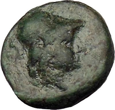 Kallatis in Thrace 200BC Rare Ancient Greek Coin Athena Wisdom Magic  i29644