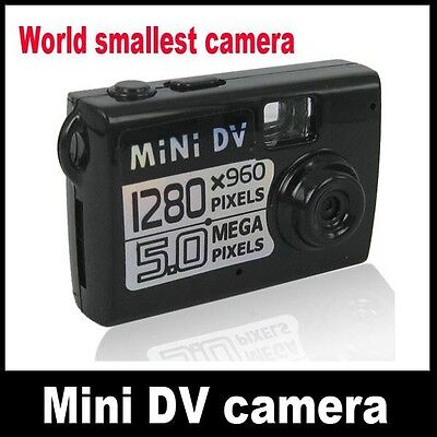 5MP HD NANO CAM DV Spy Hidden Digital Camera Recorder Camcorder Webcam DVR