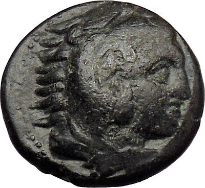 Alexander III the Great 336BC Ancient Greek Coin Hercules Bow Club  i29702