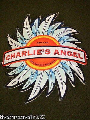 Beer Pump Clip - Charlie's Angel