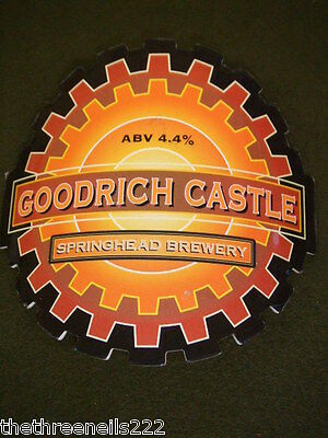 Beer Pump Clip - Goodrich Castle