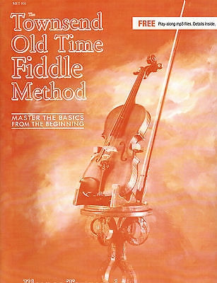 Townsend Old Time Fiddle Method Bk&Online Audio Tracks