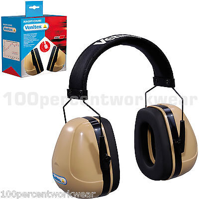 Delta Plus Venitex MAGNY COURS Ear Defenders SNR 32 dB Padded Cushion Adjustable