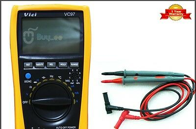 VC97 3 3/4 Auto Range Digital Multimeter All Function Include Carry Bag