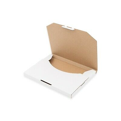 100x Mailing Box Superflat 152x132x16mm CD DVD MAILER  Rigid Letter Envelope