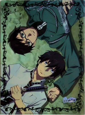 Ao no Blue Exorcist clear file folder official cosplay anime