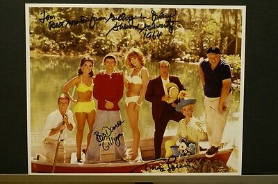 Cast Signed Gilligan's Island FREE DOMESTIC SHIPPING!