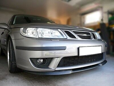 Saab 9-5 95 MK1 1 Front Bumper Cup Chin Spoiler Lip Splitter Valance Wing Trim