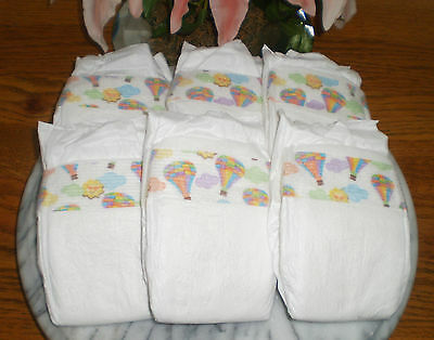 ~~Premium Diapers Size Newborn Upto 10-Pounds Or Doll Diaper~ Immed Shipping!