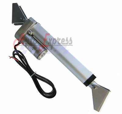 """Heavy Duty 6"""" Linear Actuator with Brackets Stroke 225 Pound Max Lift 12 Volt DC"""