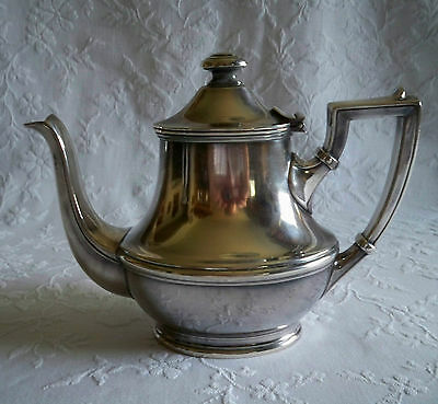 Vintage Wellner Silverplate Teapot – Rare Find - Free Shipping