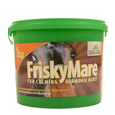 Global Herbs Frisky Mare - 1KG - Free P&P Horse Supplement