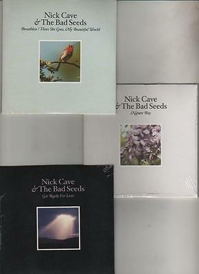 NICK CAVE & THE BAD SEEDS - NATURE BOY/BREATHLESS/GET RADY FOR LOVE - 3CDs MINT