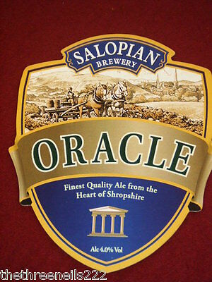 Beer Pump Clip - Salopian Brewery Oracle