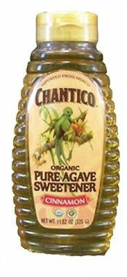 Chantico Cinnamon Organic Pure Agave Sweetener 335g Sugar and Honey Alternative