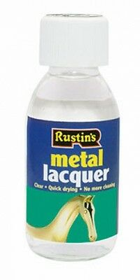 Rustins Anti-Tarnish Metal Lacquer 125ml Prevents Oxidisation and Tarnishing