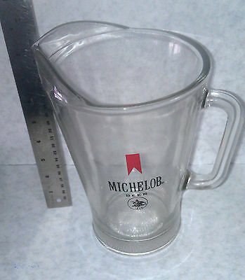 Michelob Beer Pitcher 1970's  vintage perfect condition Holds 64 oz of beer