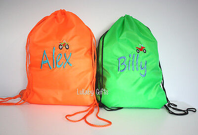 Personalised Bag, Swimming bag, Childrens Bag , Library Bag ,Sleepover Bag