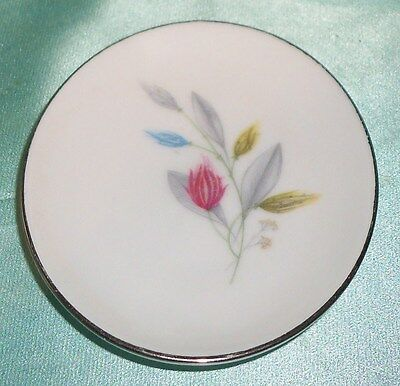 ~ Collectable ~ Furstenberg Germany Flower Pin / Butter Pat Dish ~ Vintage ~