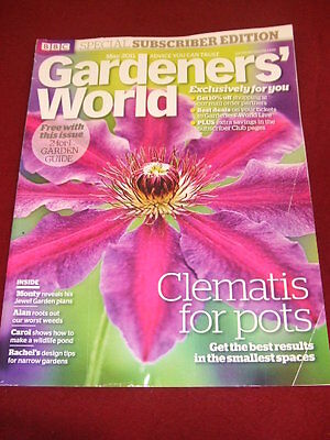 Bbc - Gardeners World - Clematis For Pots - May 2011