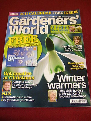Bbc - Gardeners World - Snowdrops - Dec 2010