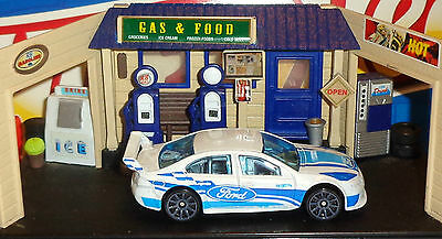 Hot Wheels Loose Ford Falcon Race Car (White Version)