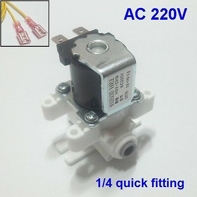 Water Solenoid Valve AC 220V Use of High Water Pressure Normally Closed
