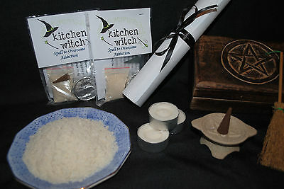"BANISH ADDICTION & NEGATIVE INFLUENCES ""Habit Be Gone"" Spell Kit Egyptian Magic"