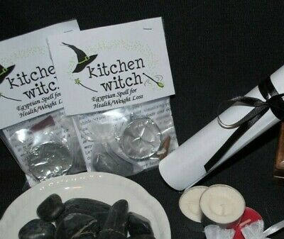 WEIGHT LOSS and/or HEALTH RECOVERY Spell Kit (Egyptian Magicks) By Kitchen Witch