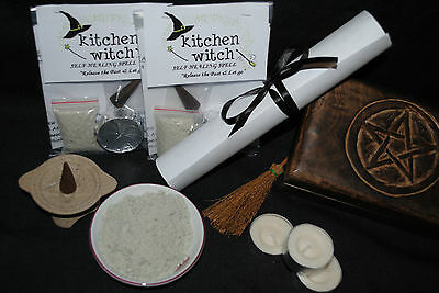 "HEALING ""Release the Past & Let Go"" Spell Kit Mend a Broken heart (Folk Magick)"