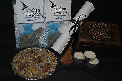 "WISHING Spell Kit ""Make a Wish"" (Egyptian Magick) By Kitchen Witch Organics Herb"