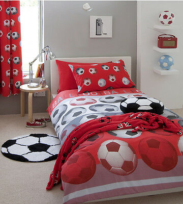 Football Bedding Red