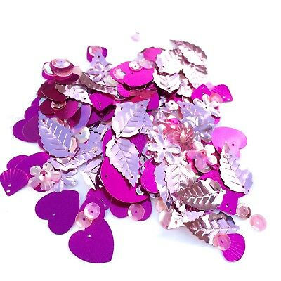 Mixed Flat, Cup and Shaped Sequins - 100+ Sparkles per Bag