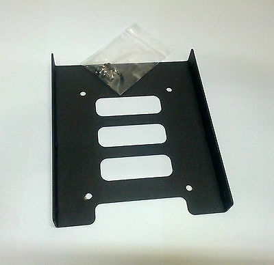 "2.5"" HDD / SSD to 3.5"" Bay Mounting Adapter Bracket for Desktop Computer PC Case"