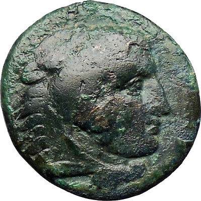 Alexander III the Great 336BC Ancient Greek Coin Hercules Bow Club  i30303
