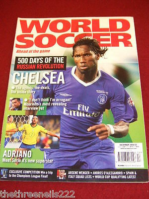 World Soccer - Adriano - Dec 2004