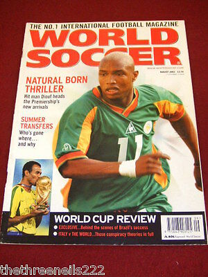 World Soccer - Diouf - Aug 2002