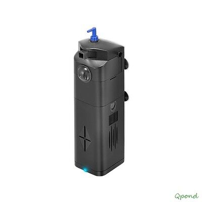 9W Aquarium Fish Tank UV Sterilizer Fully Submersible Up to 75 Gal 211GPH Pump