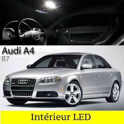 Pack full led int rieur pour audi a4 b7 avant eur 32 90 for Interieur audi a4 avant