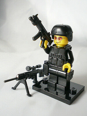 custom lego swat police helmet military gun army weapon NO.10-2