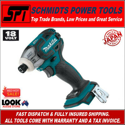"Makita Xdt01Z 18V Brushless 3 Speed Impact Driver 1/4"" Hex Lxt Li-Ion Xdt01 Bare"